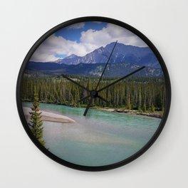Moraine River Wall Clock