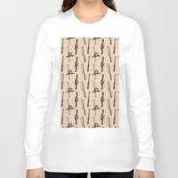 tool Long Sleeve T-shirts featuring Tool Pattern by Jessica Roux