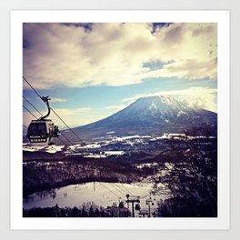 Mt. Yotei  Art Print