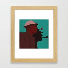 Monsieur Hulot Framed Art Print
