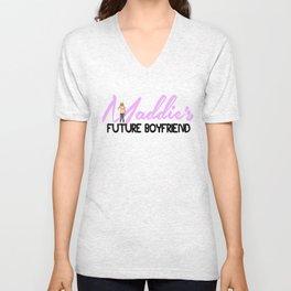 MADDIE's Future Boyfriend Unisex V-Neck