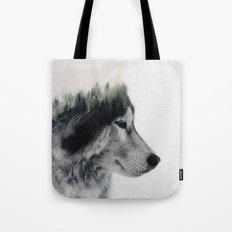Wolf Stare Tote Bag