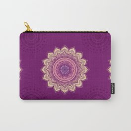 Indian Mandala ornament Carry-All Pouch