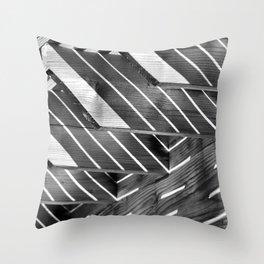 Decisive Moment -Light & Shadow Throw Pillow