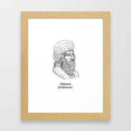 Johannes Liechtenauer Framed Art Print