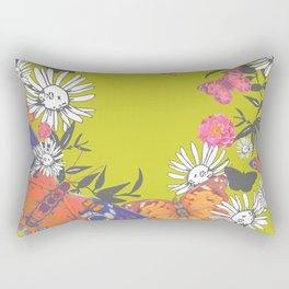 Flutterbies Rectangular Pillow
