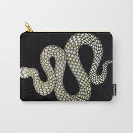 Snake's Charm in Black Carry-All Pouch