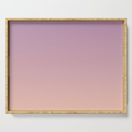Sunset Gradient Purple Pink Peach Coral Serving Tray