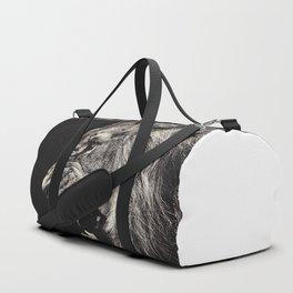 Angry Male Lion Duffle Bag
