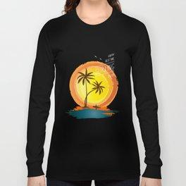 Enjoy summer Long Sleeve T-shirt