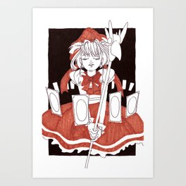 Cardcaptor Sakura – Fanart Art Print