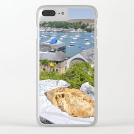 Falmouth Pasty Clear iPhone Case