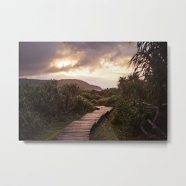 Blue Hour at Green Island, Taiwan Metal Print