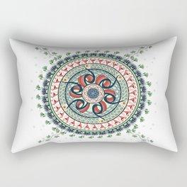 Surrounded by Classics Mandala Rectangular Pillow