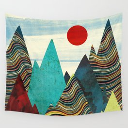 Color Peaks Wall Tapestry