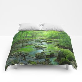 Rocky Forest Creek Comforters