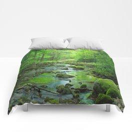 Rocky Forest Creek Comforters