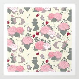 Sofia Patterns Art Print