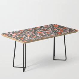 Oranges and Leaves Pattern - Pink Coffee Table