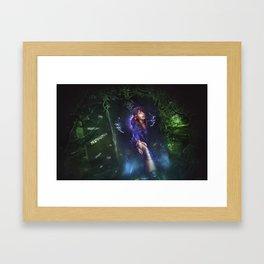 Light in the Dark Framed Art Print