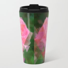Pink Roses in Anzures 2 Art Triangles 1 Travel Mug