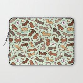 Wiener Dog Wonderland Laptop Sleeve