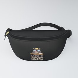 Funny Chemistry - Mole Problems Fanny Pack