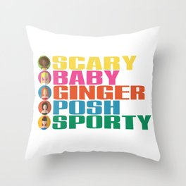 SPICE GIRLS Throw Pillow