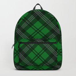 Scottish Plaid-Green Backpack
