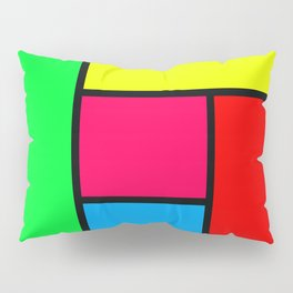 Lack of Talent Abstract #4 Pillow Sham