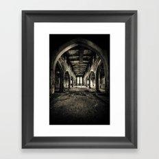 Abandoned Church Abercarn Framed Art Print