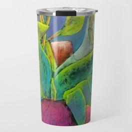 Misty Potted Plant Travel Mug
