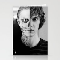 kris tate Stationery Cards featuring Tate Langdon  by Amélie Store