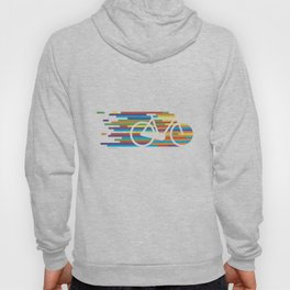 Colorful bicycle 1 Hoody