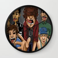 cargline Wall Clocks featuring Gorillaz 1D by cargline