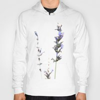 lavender Hoodies featuring Lavender by Renee Ansell