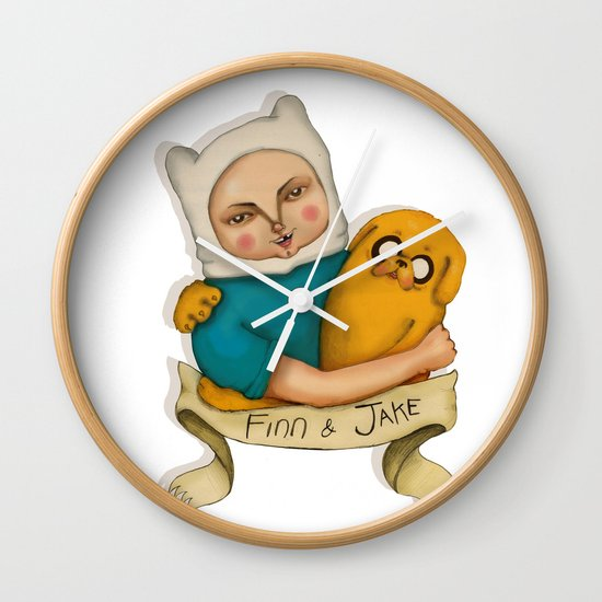 Adventures time! Wall Clock