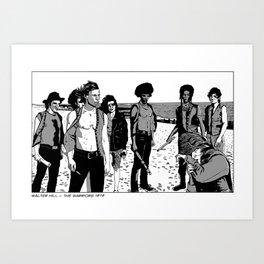The Warriors Art Print