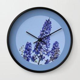blue blue blue IV Wall Clock