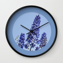 blue blue blue IV Wall Clock