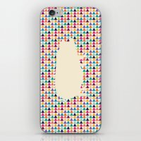 piglet iPhone & iPod Skins featuring Geometric Piglet  by ArtisanObscure Prints