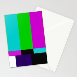 TV bars color testTV bars color test Stationery Cards