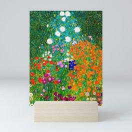 Gustav Klimt - Flower Garden Mini Art Print