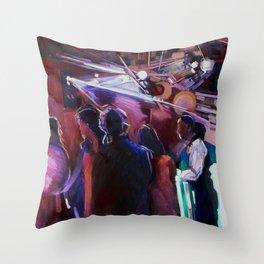 The Wedding Dancers Throw Pillow