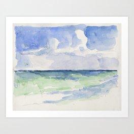 Ocean, Tulum, Mexico Art Print