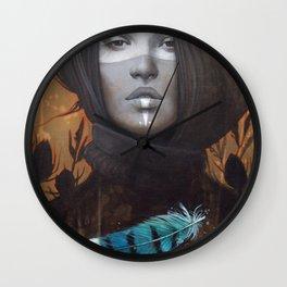 Marie-Bleue Wall Clock