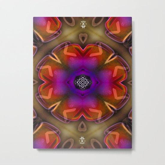Mandala 8 Metal Print