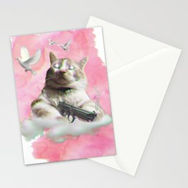 mi$hka the tra$hkat Stationery Cards