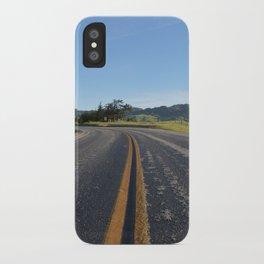 CA Road iPhone Case