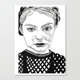 Lorde Black And White Drawing